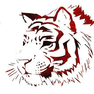 Tiger print by biGcAtsYell