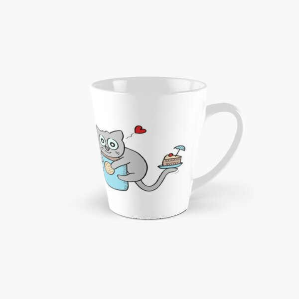 Cuddly cake cuddly biscuit cocoa cat Tall Mug