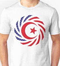 Muslim American Multinational Patriot Flag Series 1.0 Slim Fit T-Shirt