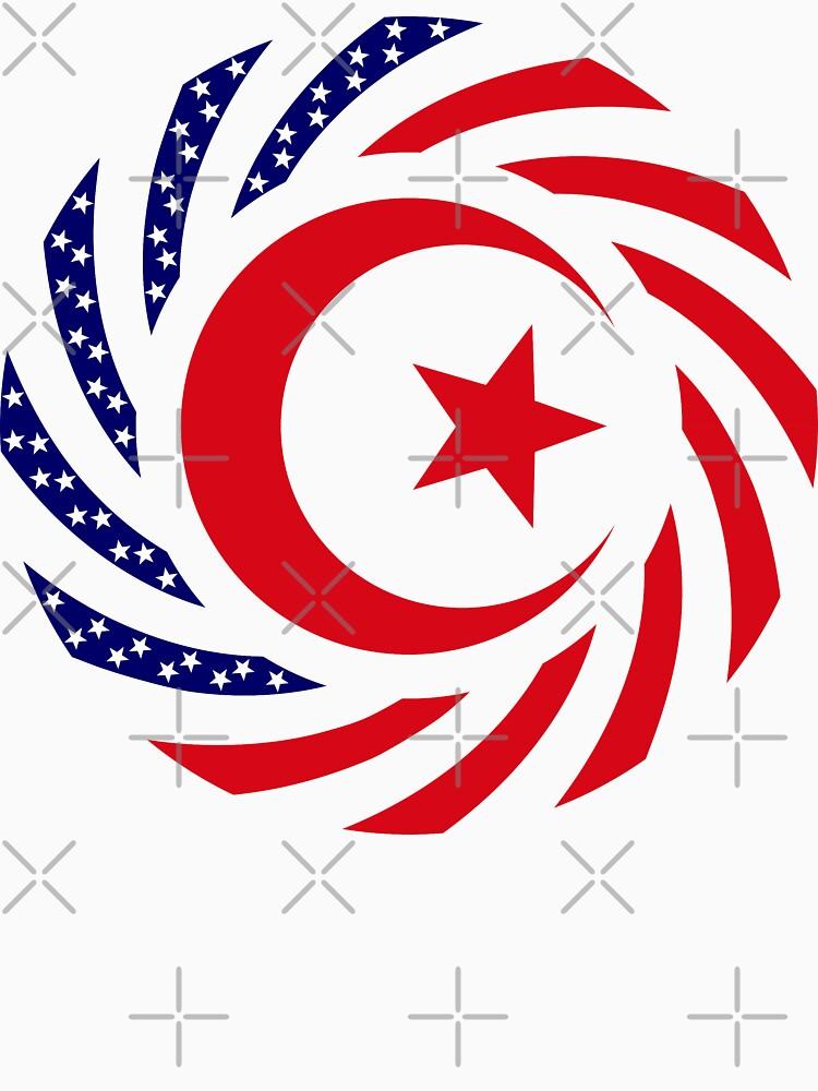 Muslim American Multinational Patriot Flag Series 1.0 by carbonfibreme