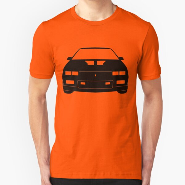 Mechanic Style Emblem T-Shirt w// 1st Generation Chevrolet Camaro Logo