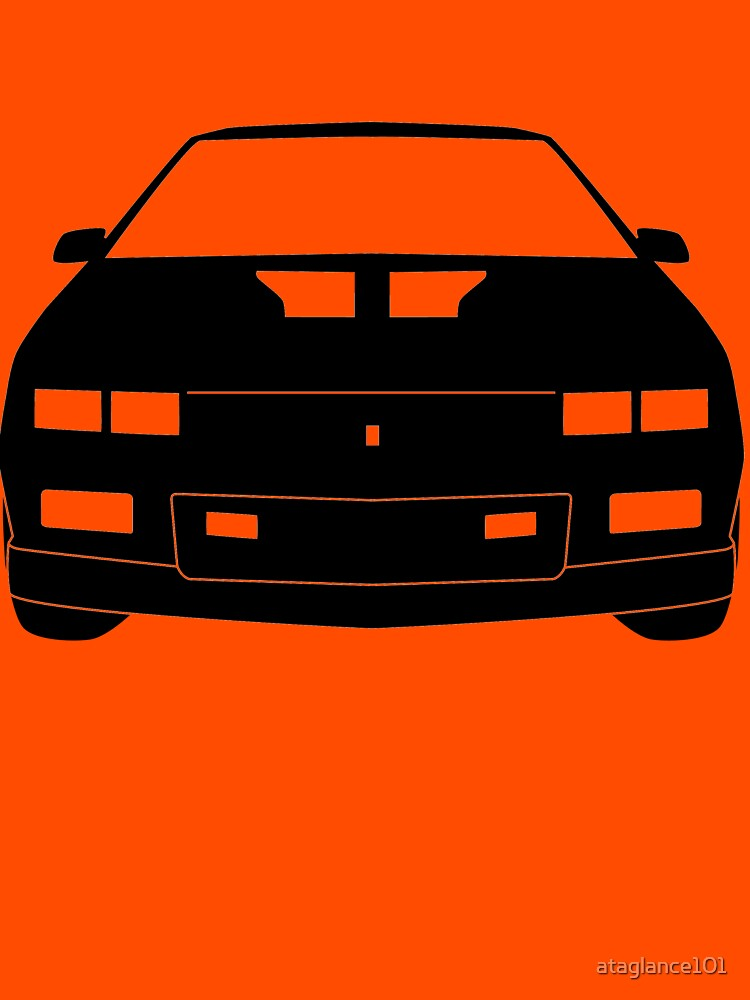 TShirtGifter presents: Third Gen Chevy Camaro - BLACK | Unisex T-Shirt