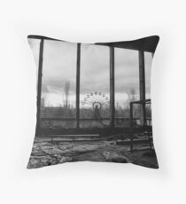 Chernobyl Throw Pillow