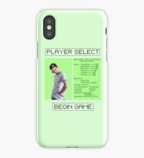 Jacksepticeye Player Select Screen iPhone Case