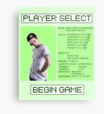 Jacksepticeye Player Select Screen Metal Print
