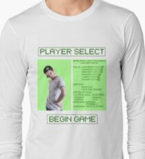 Jacksepticeye Player Select Screen Long Sleeve T-Shirt