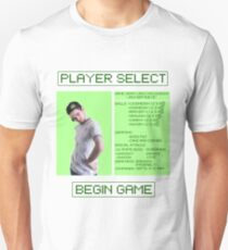 Jacksepticeye Player Select Screen Unisex T-Shirt