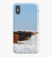 Winter Herd iPhone Case/Skin