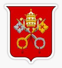 Coat of Arms of Vatican City Sticker