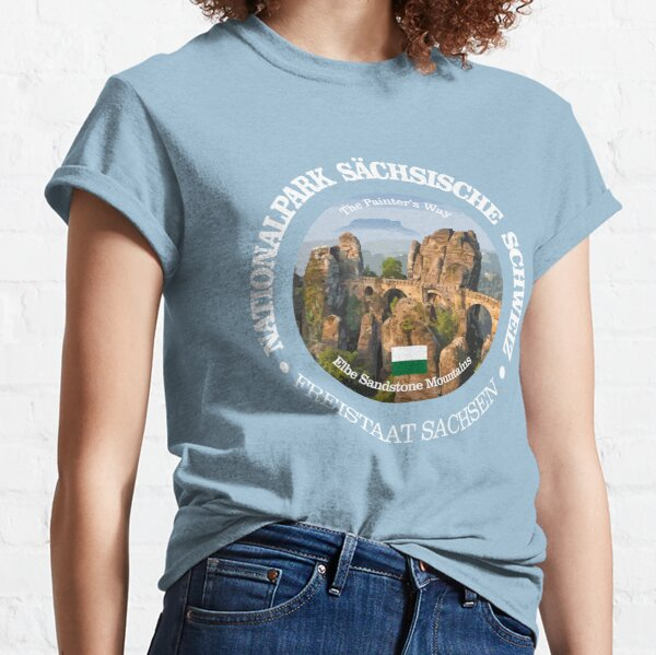 Saxon Switzerland National Park (NP) Classic T-Shirt