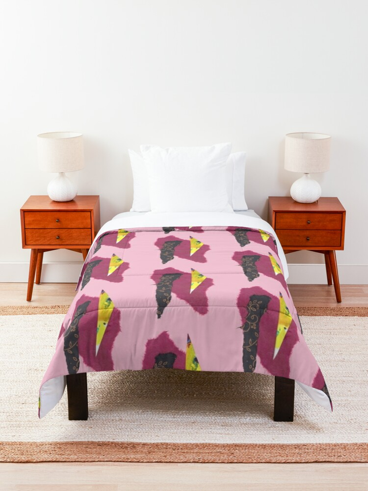 Alternate view of Magnetic Elements Comforter