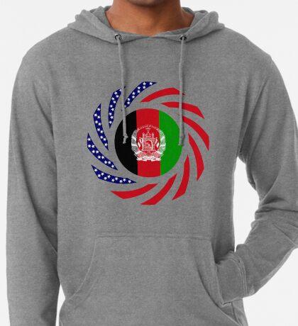 Afghani American Multinational Patriot Flag Series Lightweight Hoodie