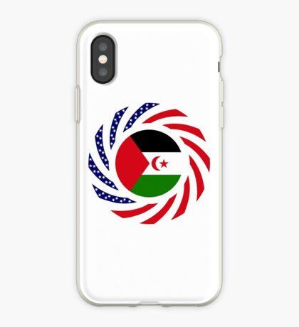 Sahrawi Arab Democratic Republic American Multinational Patriot Flag Series iPhone Case