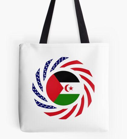 Sahrawi Arab Democratic Republic American Multinational Patriot Flag Series Tote Bag