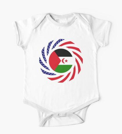 Sahrawi Arab Democratic Republic American Multinational Patriot Flag Series Kids Clothes
