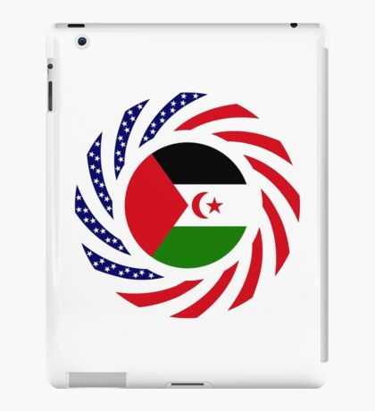 Sahrawi Arab Democratic Republic American Multinational Patriot Flag Series iPad Case/Skin