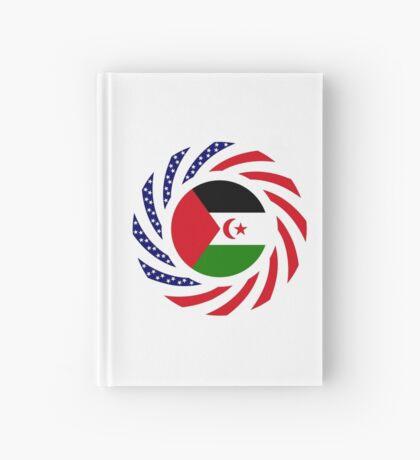 Sahrawi Arab Democratic Republic American Multinational Patriot Flag Series Hardcover Journal