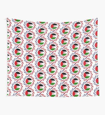 Sahrawi Arab Democratic Republic American Multinational Patriot Flag Series Wall Tapestry
