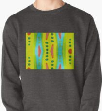 Drop Fired Kiln Glass Image Duplicated Pullover
