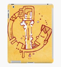 Drinking beer iPad Case/Skin
