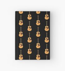 Beautiful Acoustic Guitar Hardcover Journal