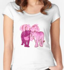 Lesbian Pride Lionesses Women's Fitted Scoop T-Shirt