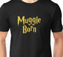 Muggle Born gold Unisex T-Shirt