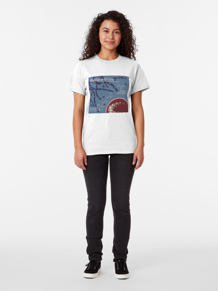 Alternate view of Bacillus anthracis Classic T-Shirt