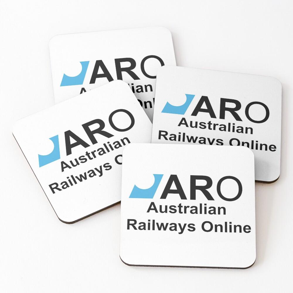 Australian Railways Online Coasters (Set of 4)