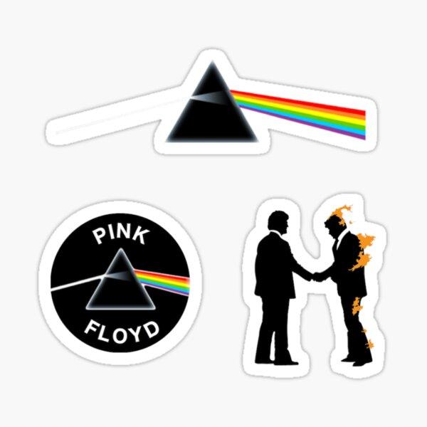 Paquete de pegatinas de Pink Floyd n. ° 1 Pegatina