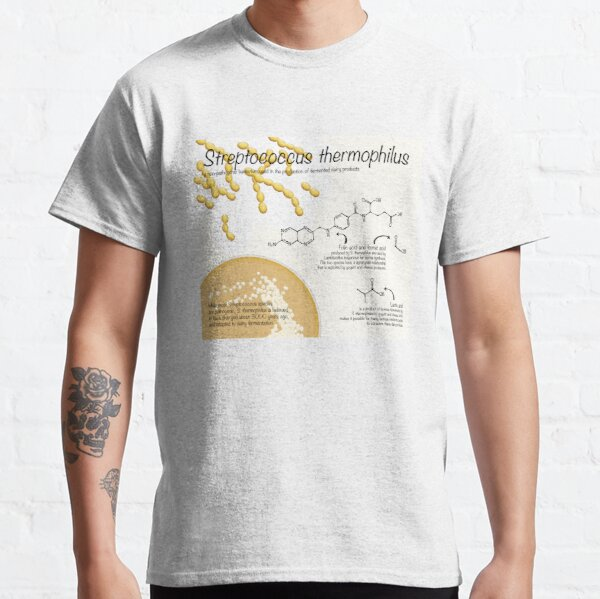 Streptococcus thermophilus Classic T-Shirt