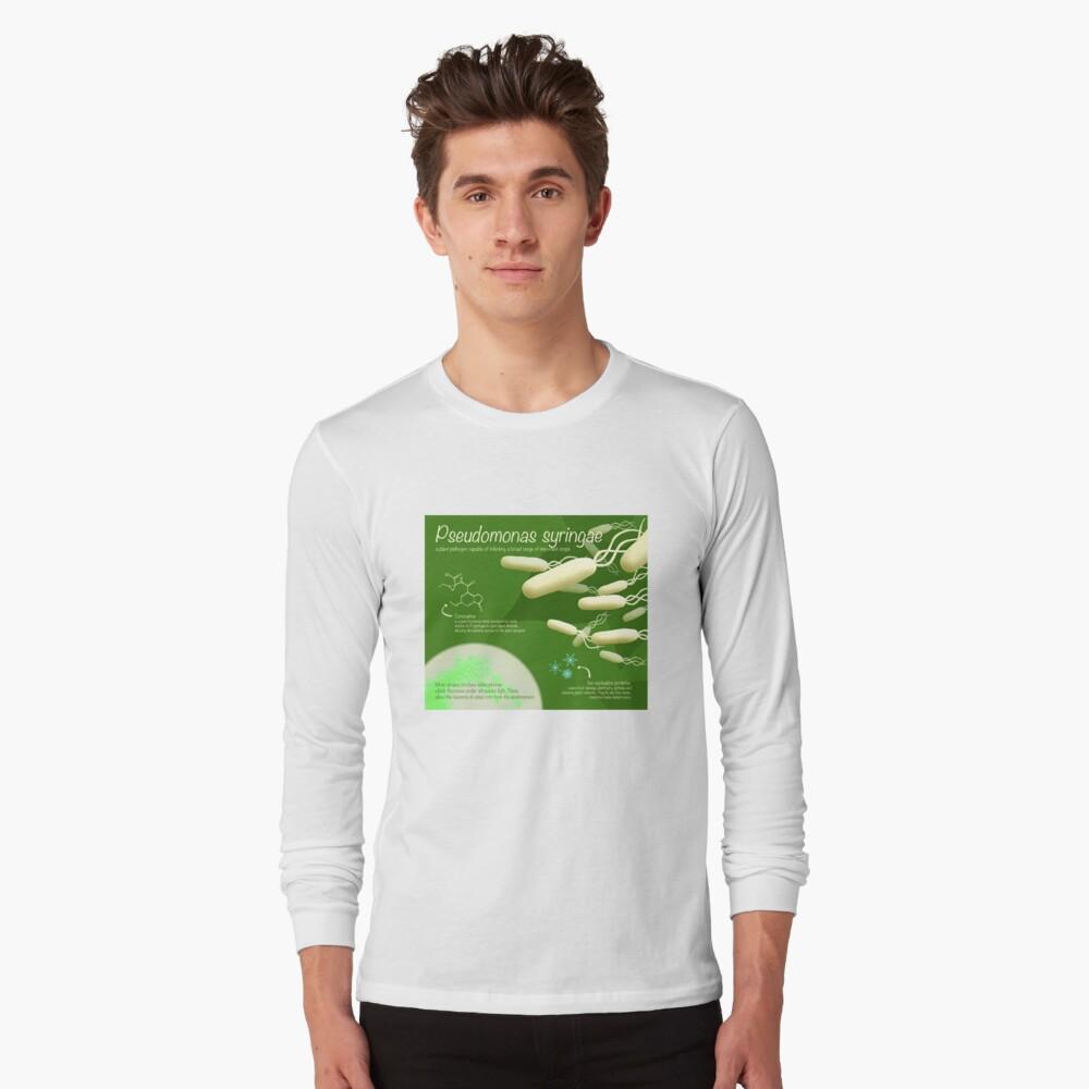 Pseudomonas syringae Long Sleeve T-Shirt