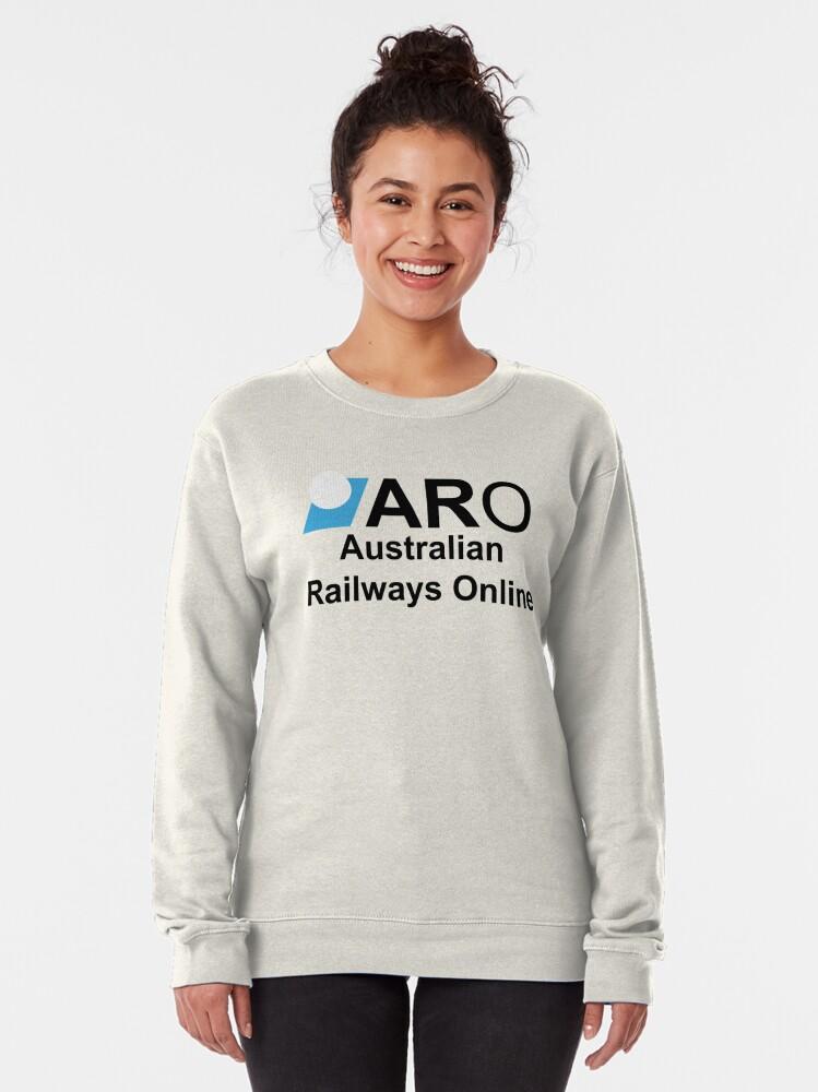 Alternate view of Australian Railways Online Pullover Sweatshirt