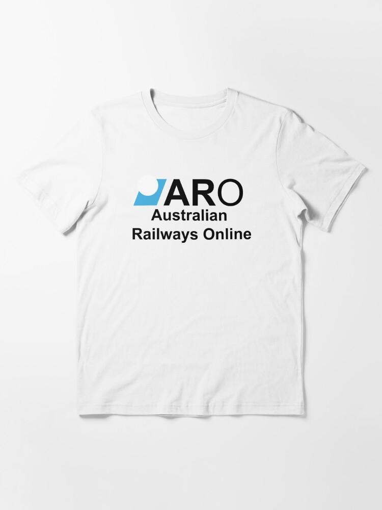Alternate view of Australian Railways Online Essential T-Shirt