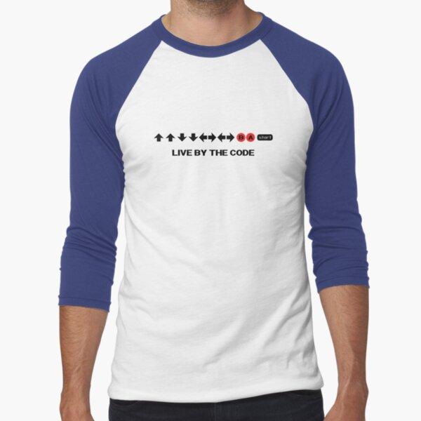 Nintendo Konami - Live par le code T-shirt baseball manches ¾