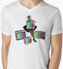 Color Men's V-Neck T-Shirt