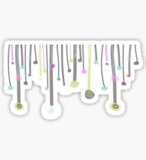 Pastel Showers Sticker