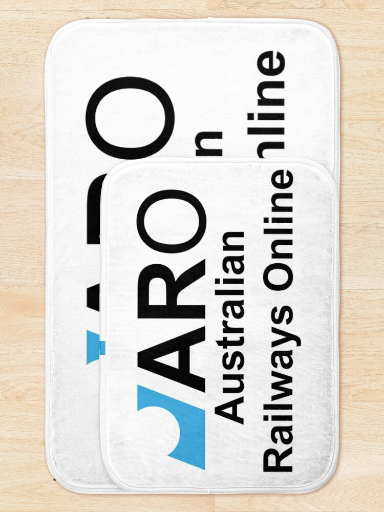 Alternate view of Australian Railways Online Bath Mat