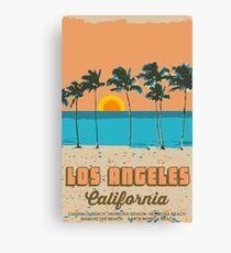 Venice Beach - Kalifornien. Leinwanddruck