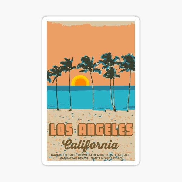 Venice Beach - California.  Sticker