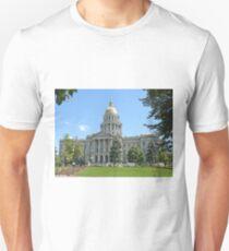 Colorado State Capitol Building, Denver Unisex T-Shirt