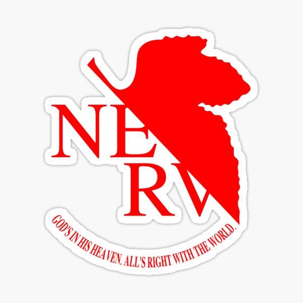 NERV Logo Sticker
