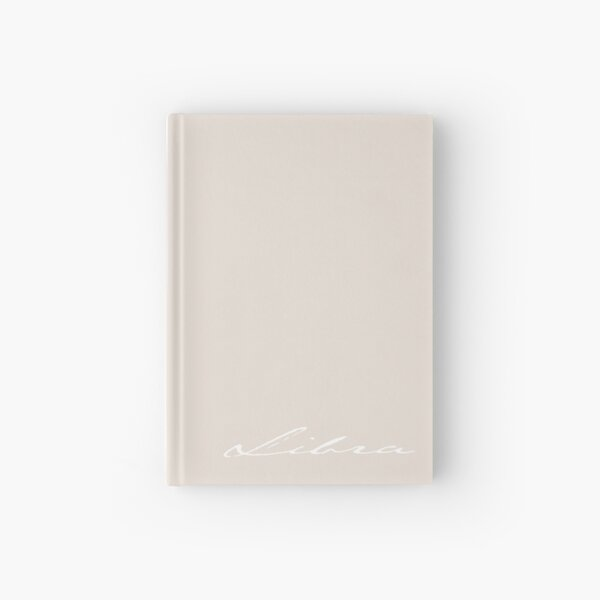 Libra - the Scales Hardcover Journal