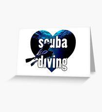 LOVE Scuba Diving!! Greeting Card