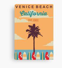 Venice Beach - California.  Canvas Print