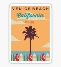 Venice Beach - California.  Sticker