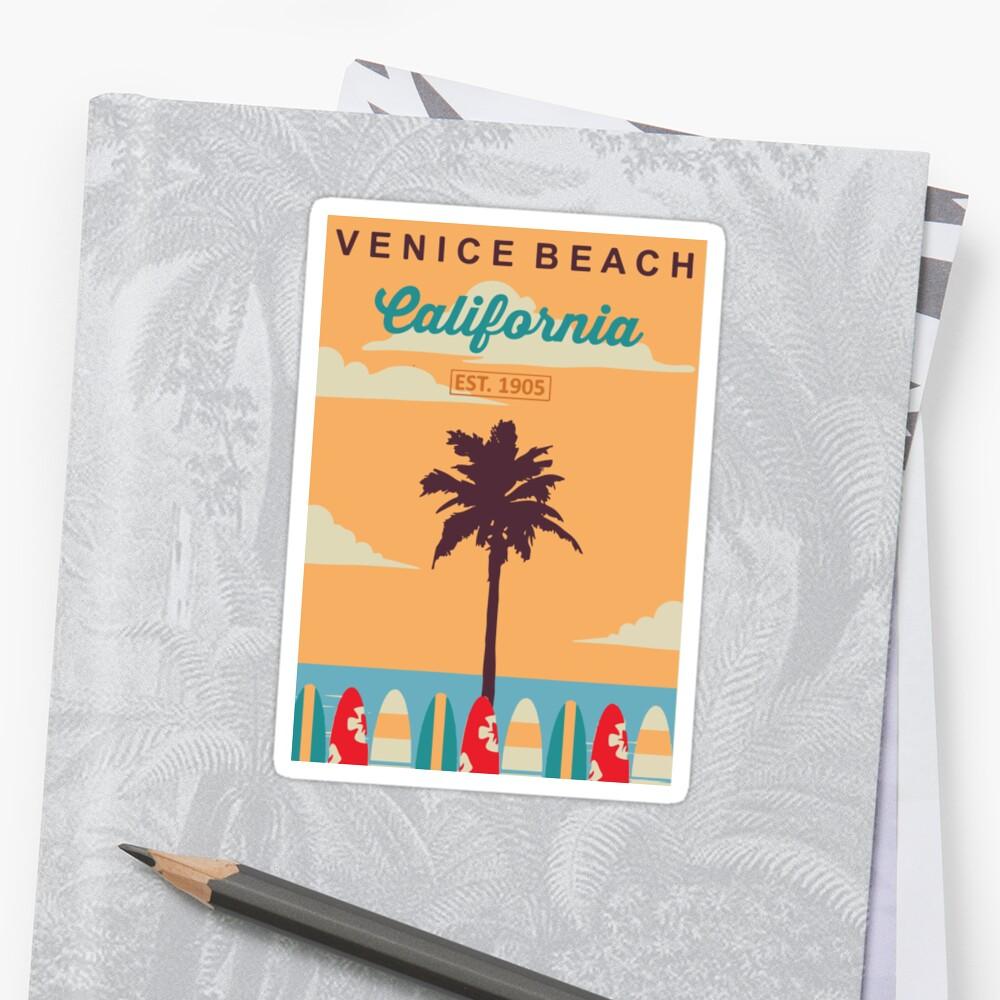 Venice Beach - Kalifornien. Sticker