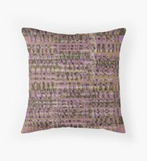 Pointed Maple Embossed Bark Estates Throw Pillow