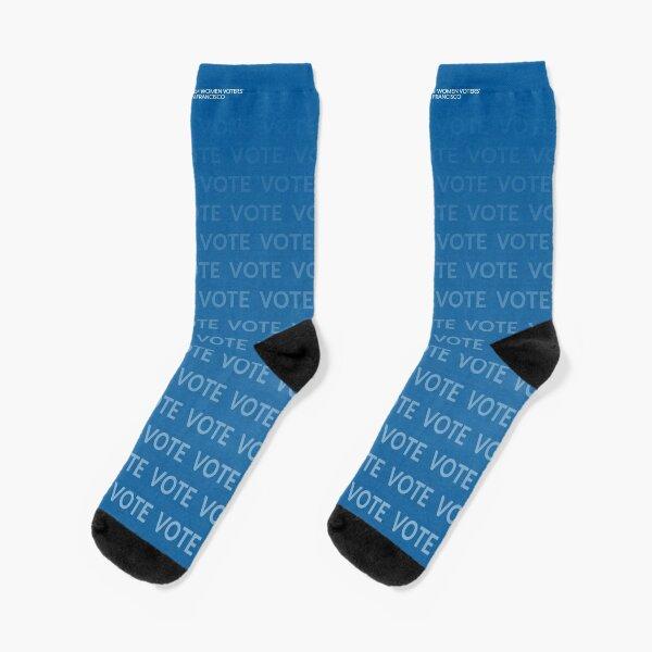 VOTE VOTE VOTE - blue Socks