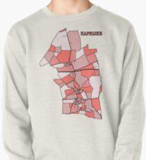 Kaprijke Rood Pastel Pullover